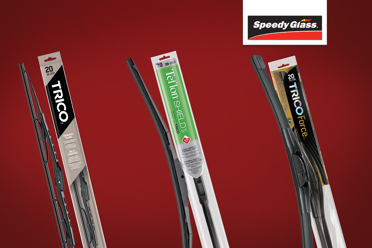 wipers Trico range SpeedyGlass