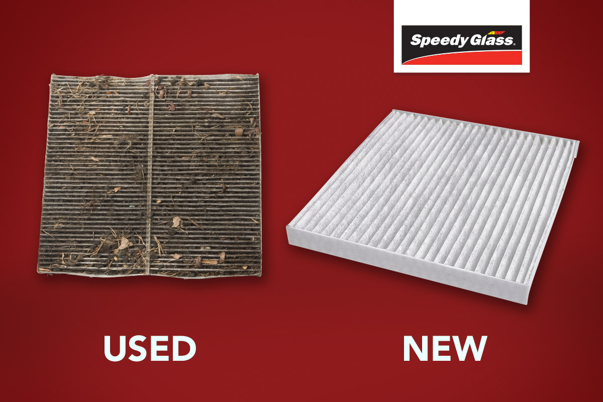 used new cabin filter car Speedy Glass